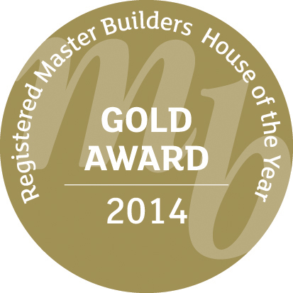 Gold Award 2014 - Registered Master Builders House of the Year