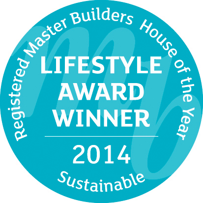 Lifestyle Award Winner 2014: Sustainable - Registered Master Builders House of the Year