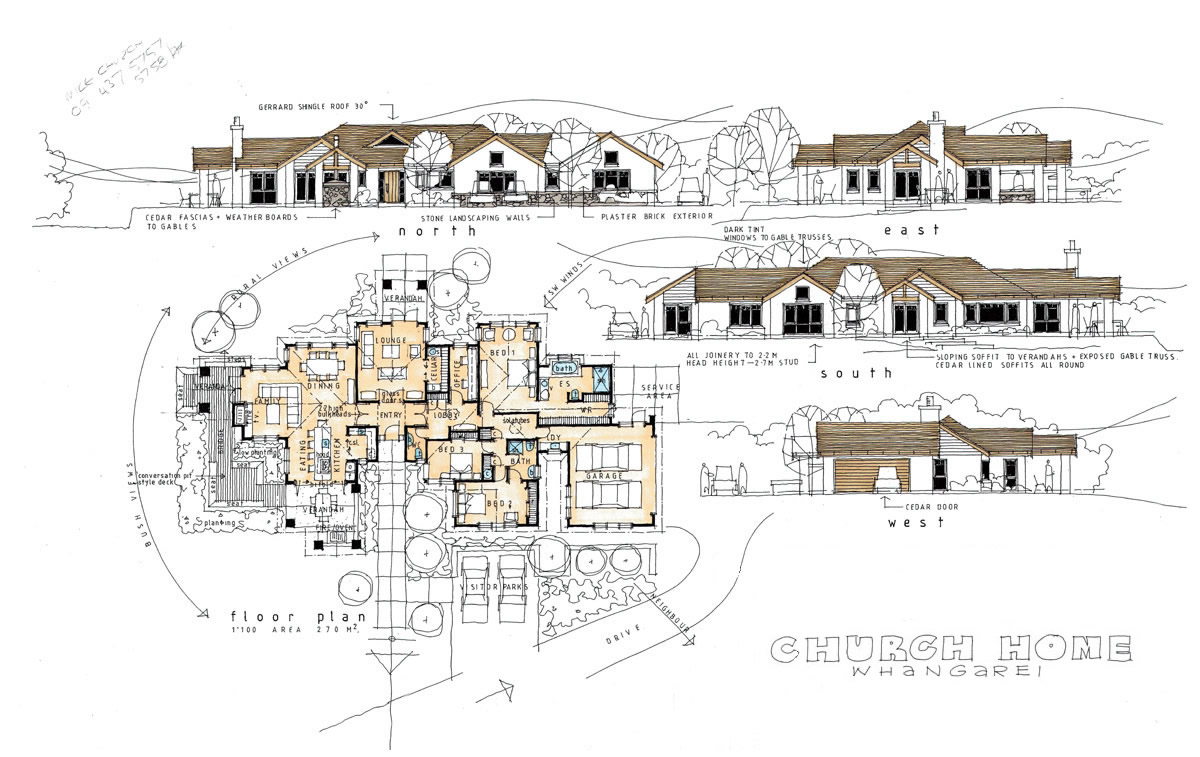church home building plan