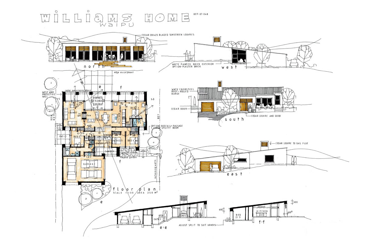 wiliams home building plan
